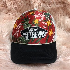 "Vans ""OFF THE WALL"" Tropical trucker hat"